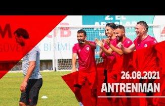 Samsunspor Kocaelispor maçı hazırlıklarını sürdürüyor