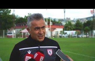 Samsunspor Teknik Direktörü Soruları Cevapladı