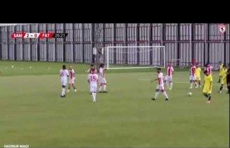 YILPORT SAMSUNSPOR – FATSA BELEDİYESPOR: 3 – 0 Maç Özeti